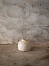 incredible ceramic bottle jar if off white colour by Jérôme Hirson