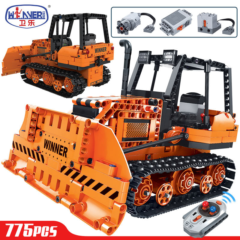 ERBO 775pcs Technic Remote Control Engineering Truck - F.I.Toys