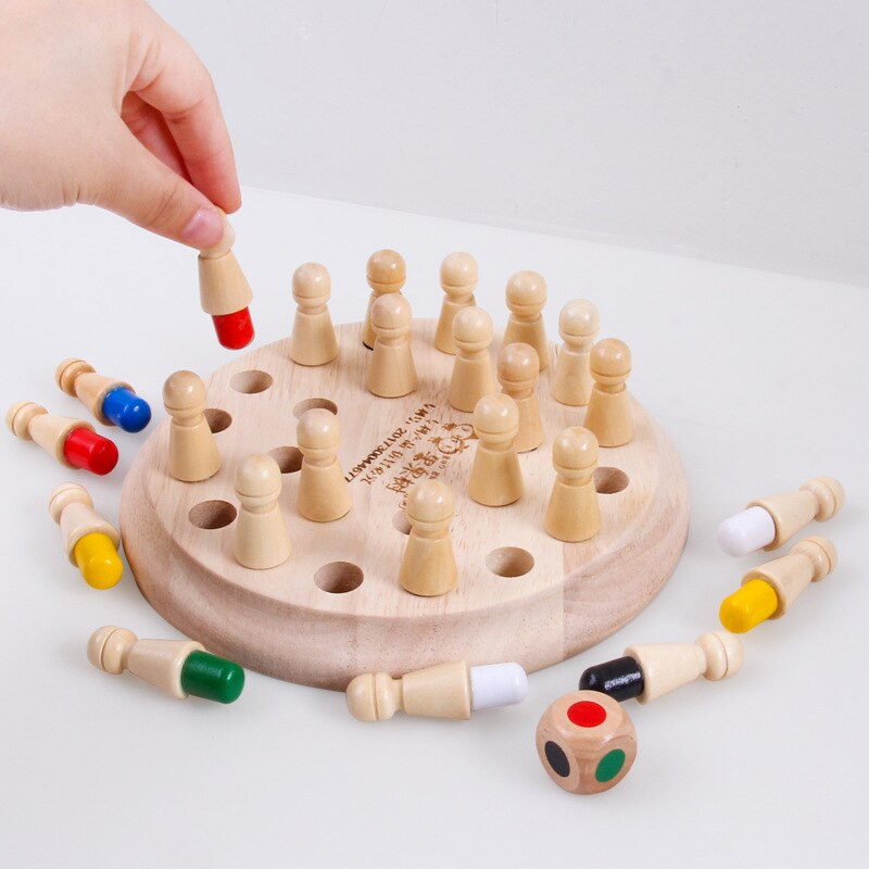 Memory Match Stick Chess - F.I.Toys