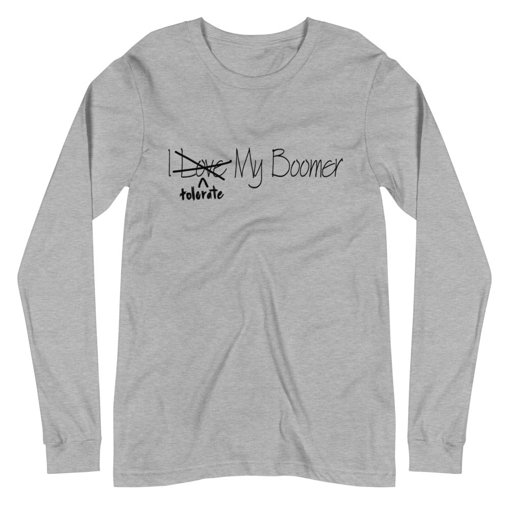 Tolerate long sleeve