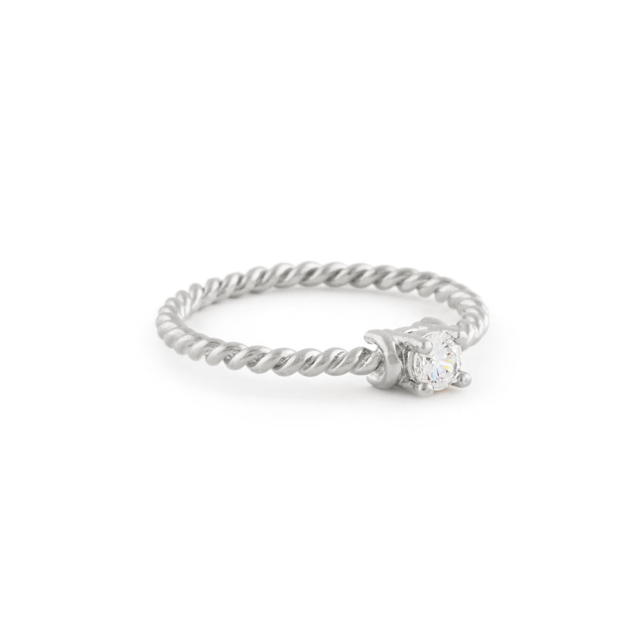 The Kimberly Ring In Silver