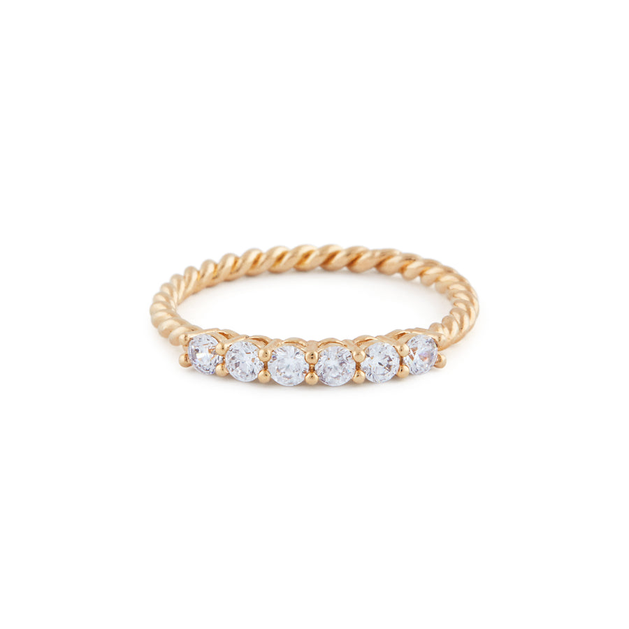 The Cynthia Ring In Gold