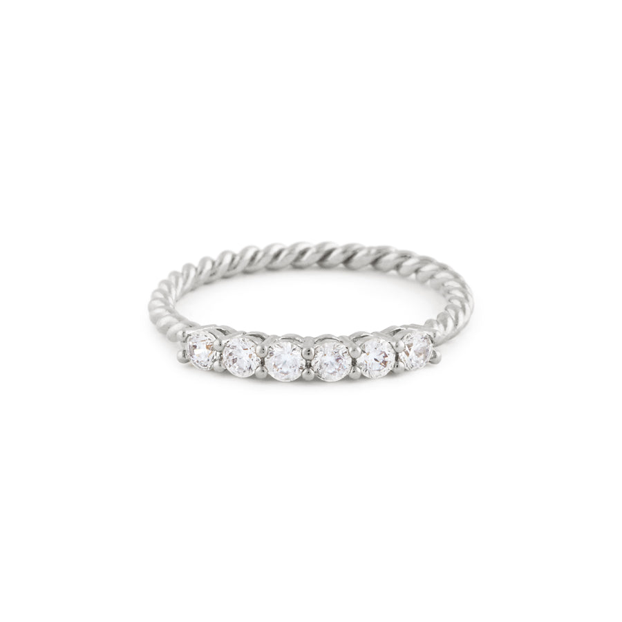 The Cynthia Ring In Silver