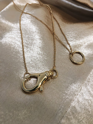 "The ""O"" Necklace"