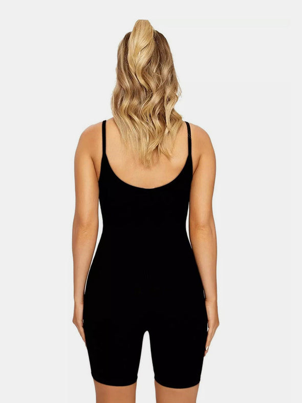 Sexy Sling Slim Fit Hip Raise Sports Jumpsuit