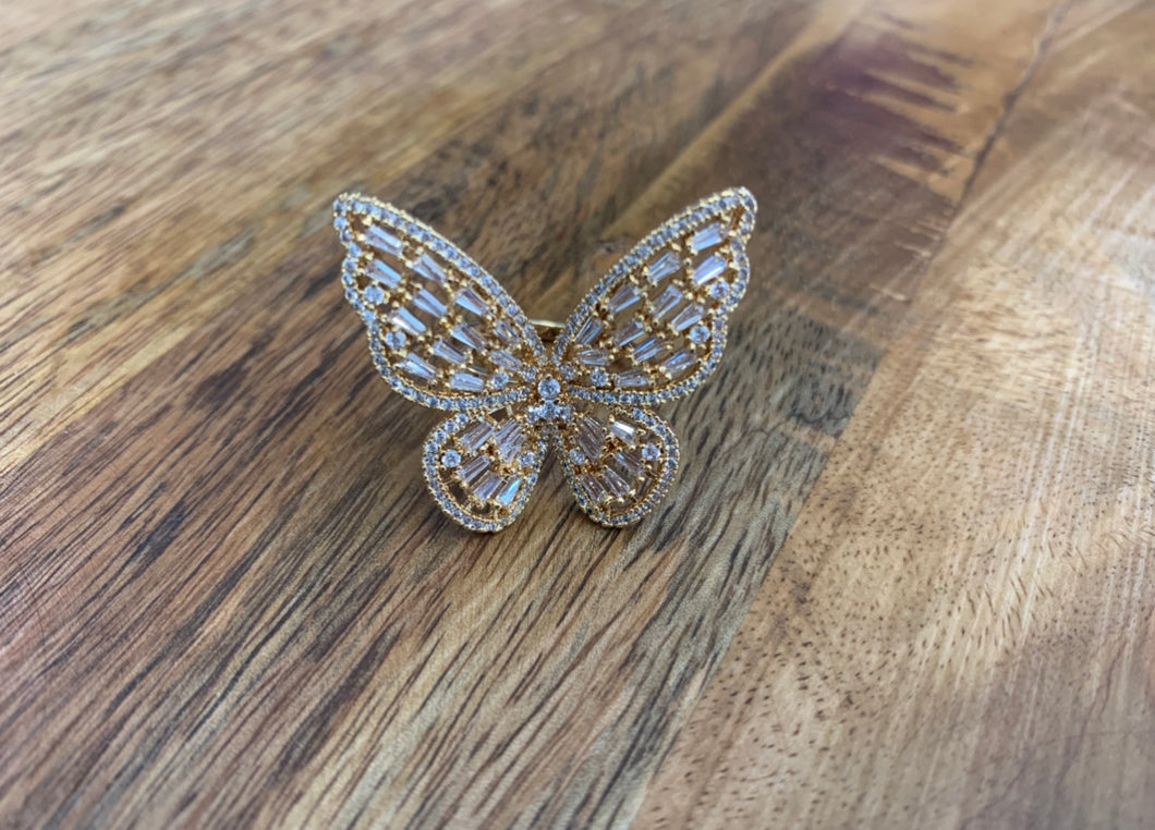 Mely Butterfly Ring