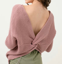 Load image into Gallery viewer, Tammy Sweater (mauve)