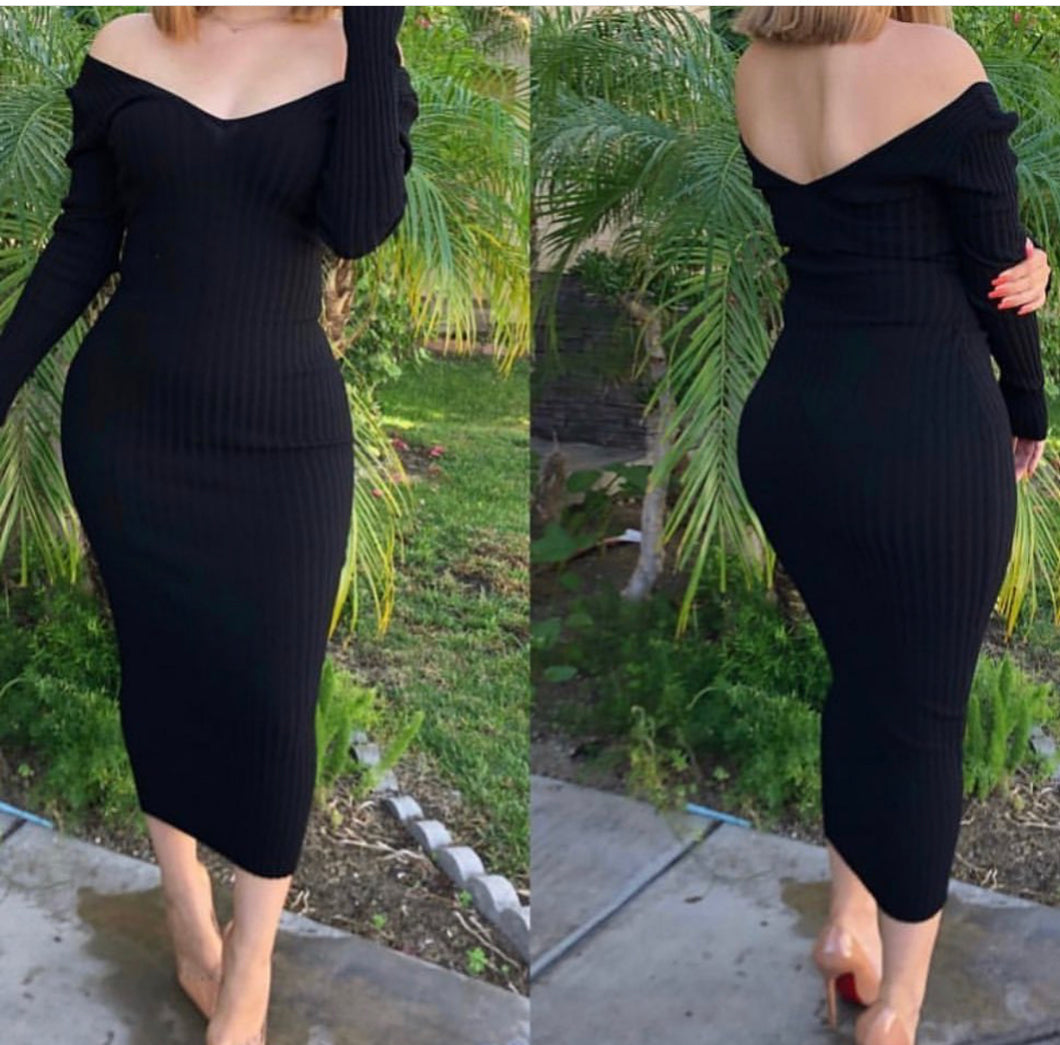 Abby Dress (black)