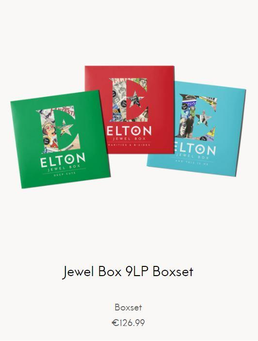 Elton John - Jewel Box 9LP Boxset