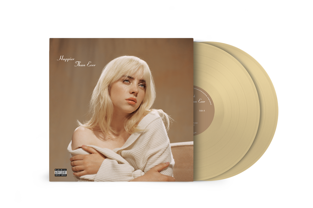 "Billie Eilish | ""Happier Than Ever"" Exclusive Golden Yellow Vinyl"