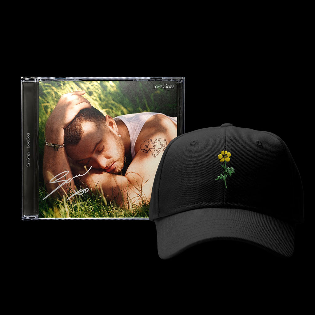 Sam Smith - Love Goes Buttercup Cap Bundle - SIGNED!