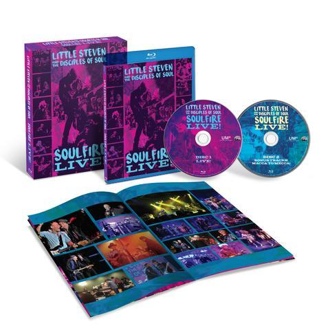 Little Steven, The Disciples Of Soul | Soulfire Live! (2 Blu-Ray)
