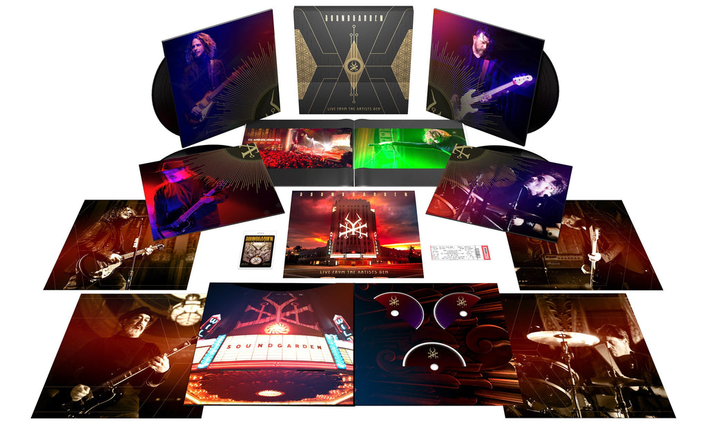 Soundgarden | Live From The Artists Den Deluxe Box Set