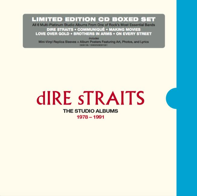 Dire Straits | The Studio Albums 1978-1991 (6CD BOXSET)