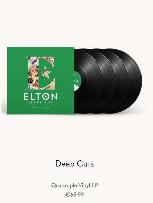 Elton John - Deep Cuts 4LP
