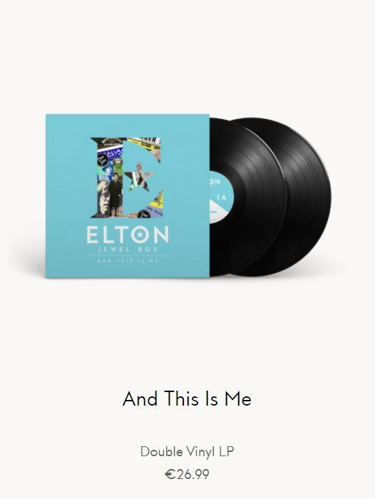 Elton John - And This Is Me 2LP