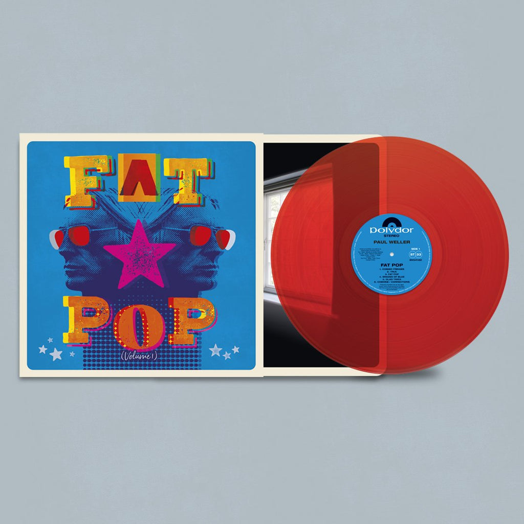 Paul Weller | Fat Pop (Red Vinyl 1LP - Store Exclusive!)
