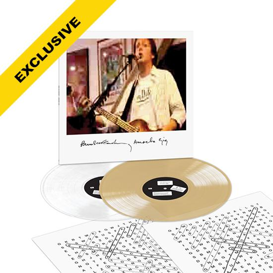 Paul McCartney | Amoeba Gig 2LP COLOURED VINYL