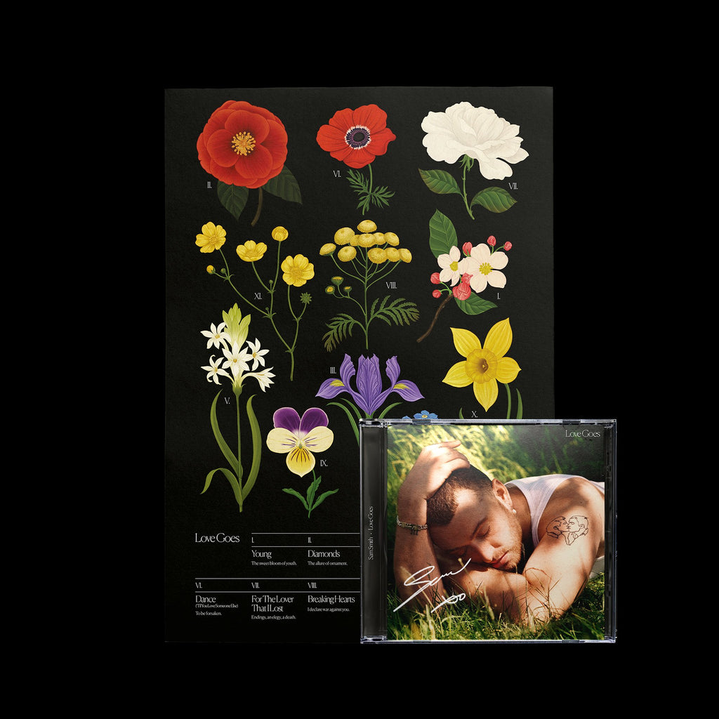 Sam Smith - Love Goes Botanical Poster Bundle - SIGNED!