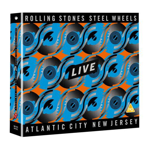 The Rolling Stones | Steel Wheels Live - DVD + 2CD