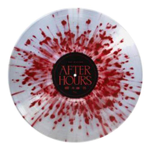 The Weeknd | After Hours Red/Silver Splatter Vinyl