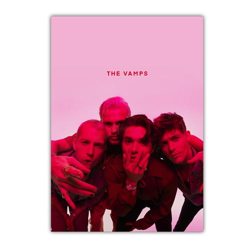 The Vamps | Pink Photo A2 Lithograph
