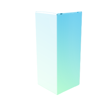 Product box colored