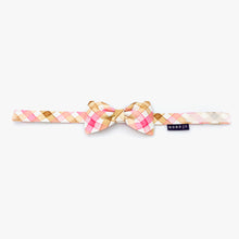 Load image into Gallery viewer, Bowtie (0802-02 Pink / Brown Checks)