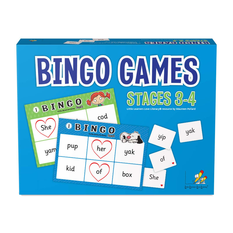 Bingo Games Stages 3-4