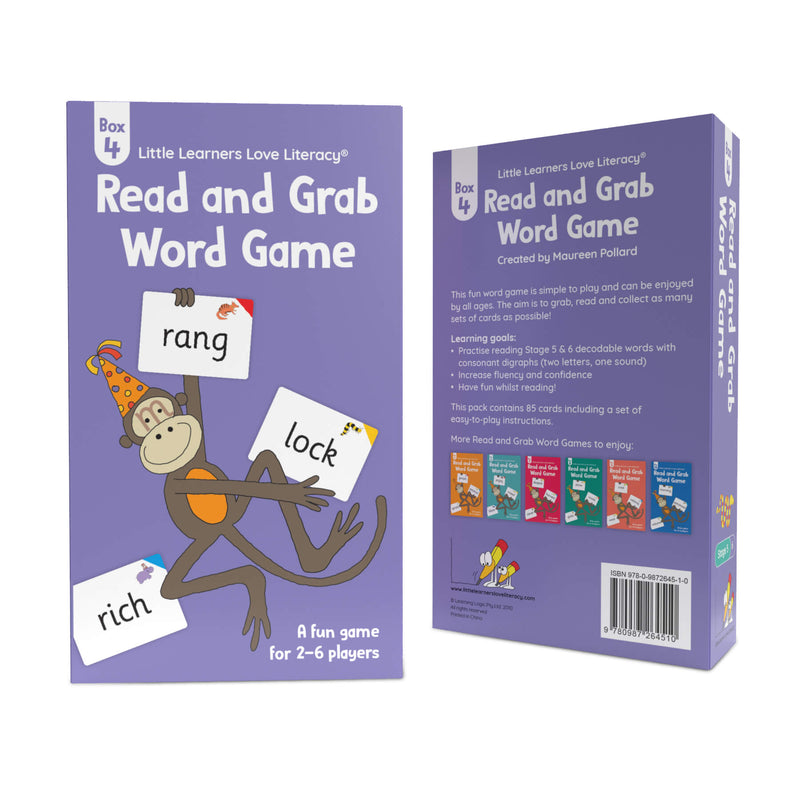Read and Grab Word Game Box 4