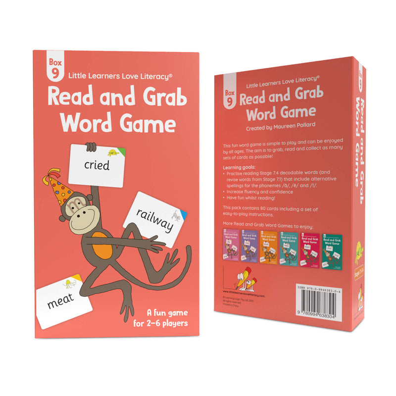 Read and Grab Word Game Box 9
