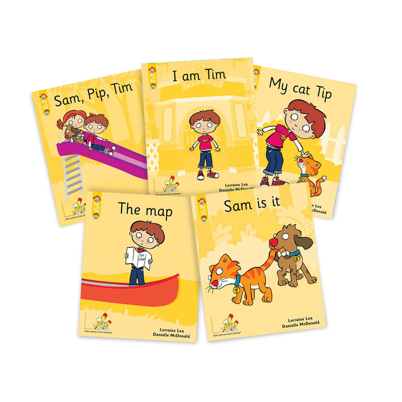 Pip and Tim Little Book Pack Stages 1-7