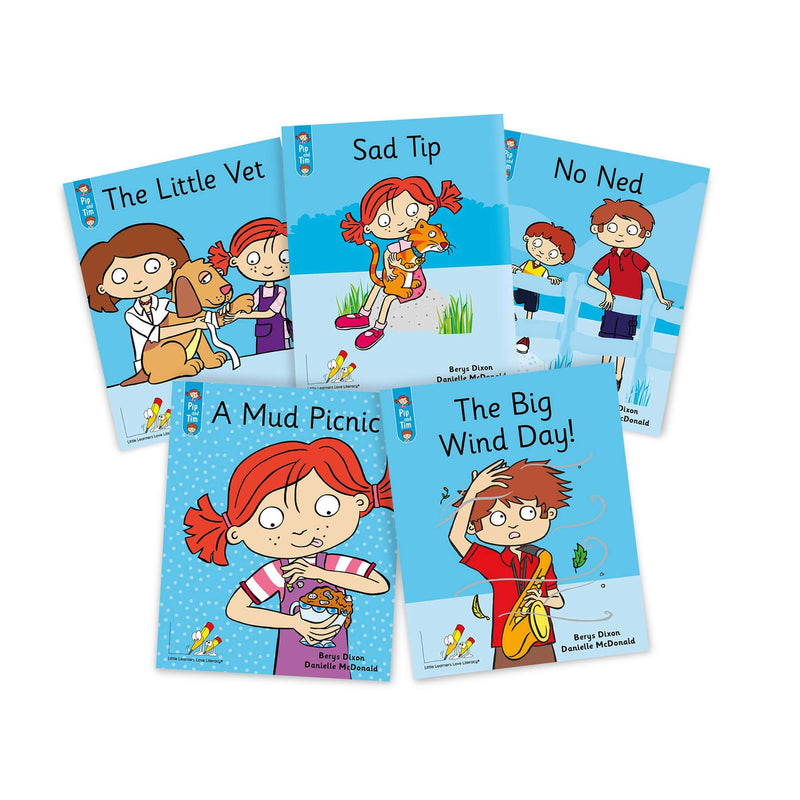 Pip and Tim Small Group Book Pack Stages 1-6