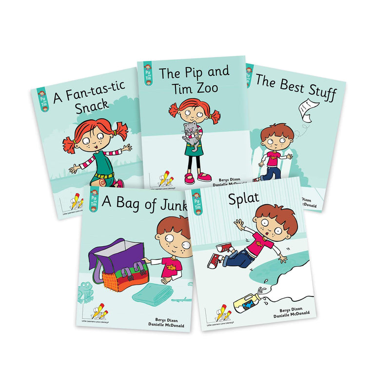 Pip and Tim Small Group Book Pack Stages 1-7