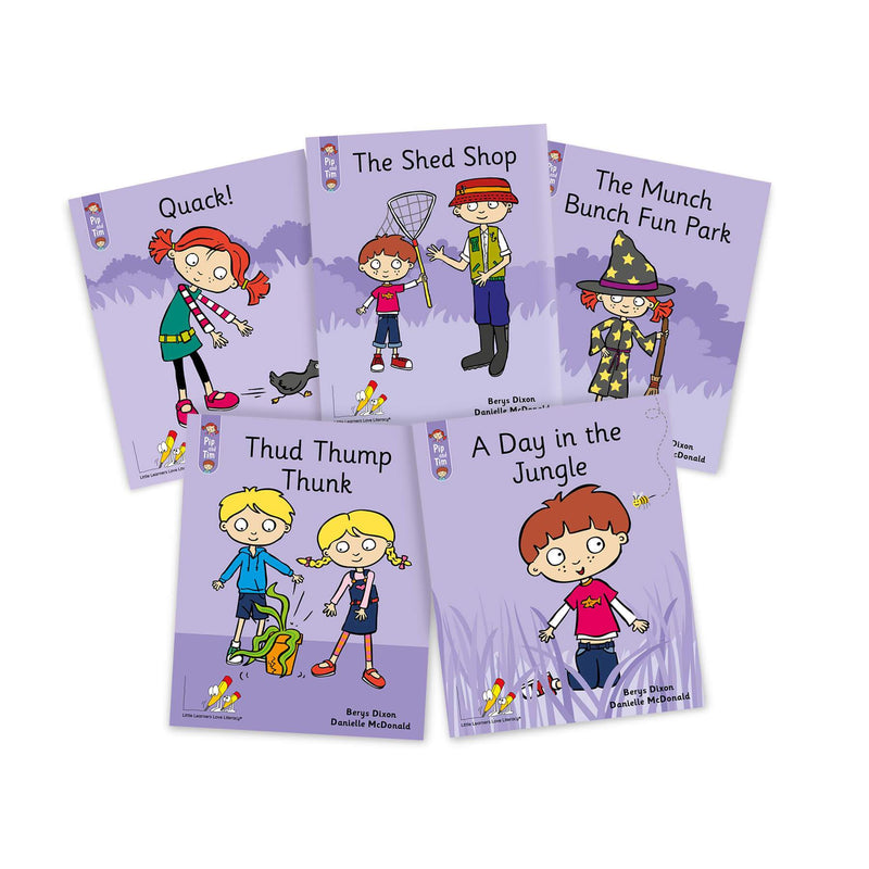 Pip and Tim Little Book Pack Stages 1-6