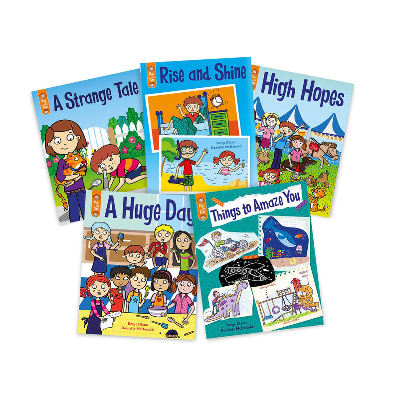 Pip and Tim Small Group Book Pack Stage 7