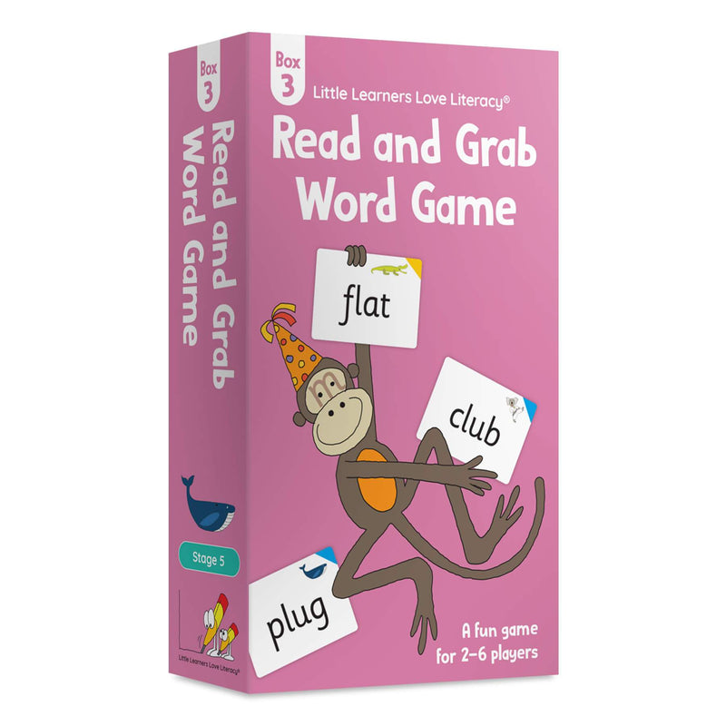 Read and Grab Word Game Box 3