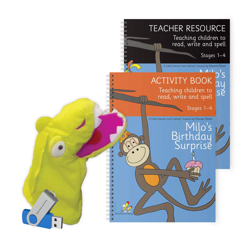 Milo's Teacher Activity Resource Pack Stages 1-4
