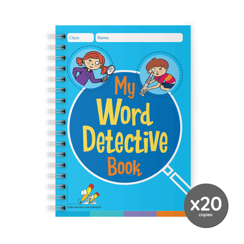 My Word Detective Book Pack of 20