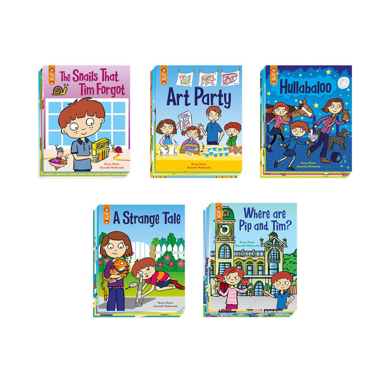 Pip and Tim Little Book Pack Stage 7