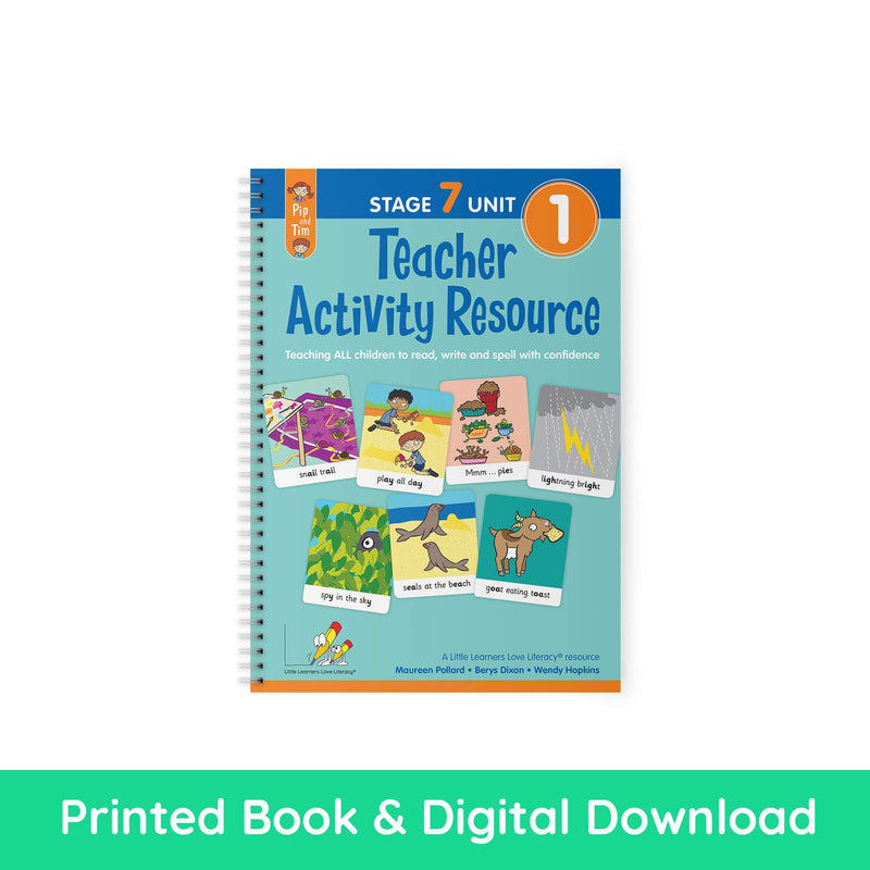 Teacher Activity Resource Stage 7 Unit 1 PRINT AND DIGITAL