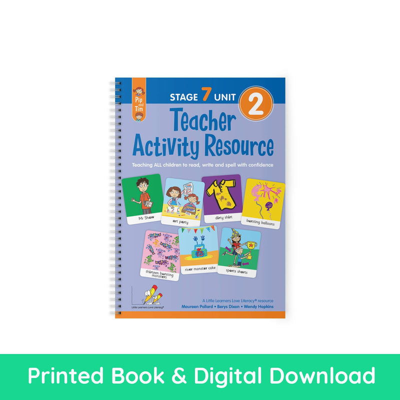 Teacher Activity Resource Stage 7 Unit 2 PRINT AND DIGITAL