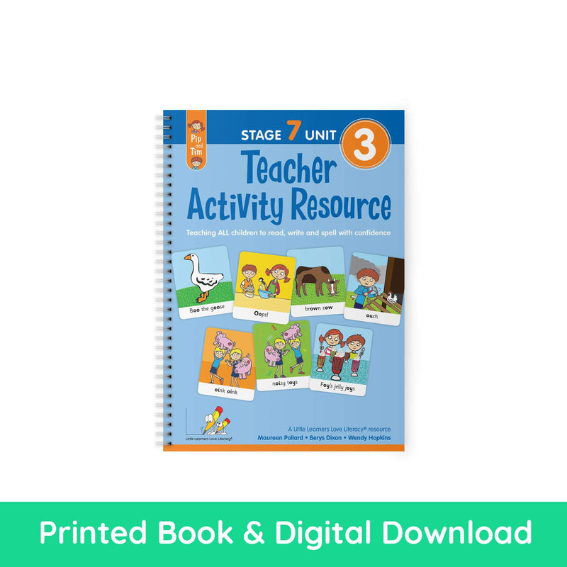 Teacher Activity Resource Stage 7 Unit 3 PRINT AND DIGITAL