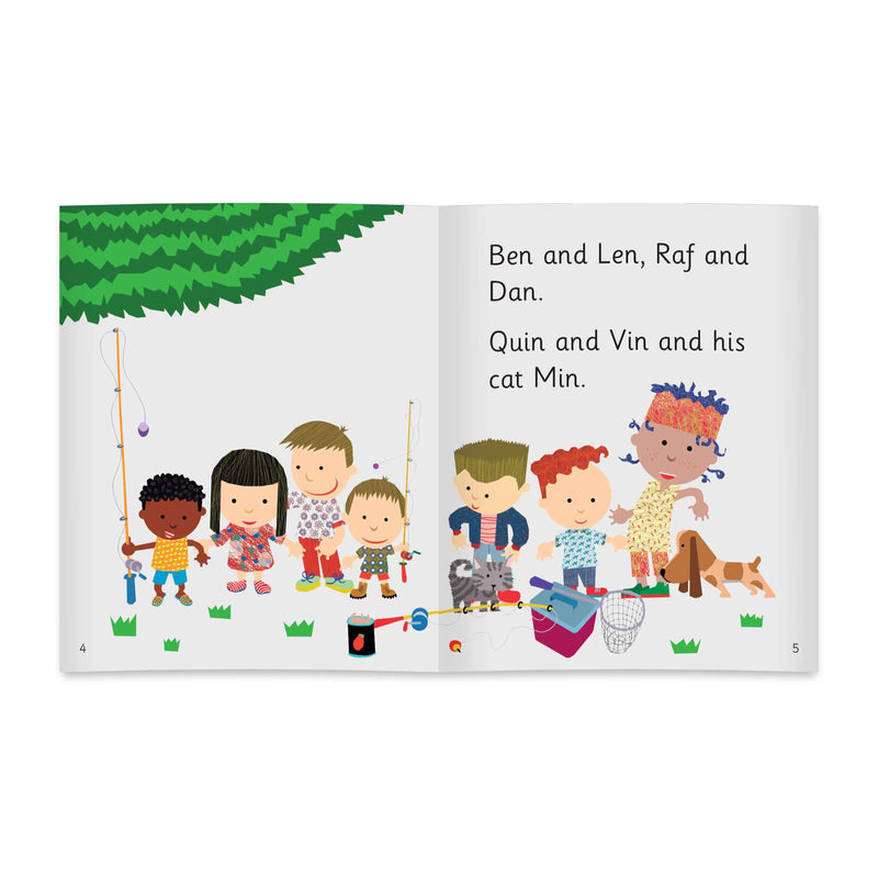The Wiz Kids Class Book Pack Stages 1-4