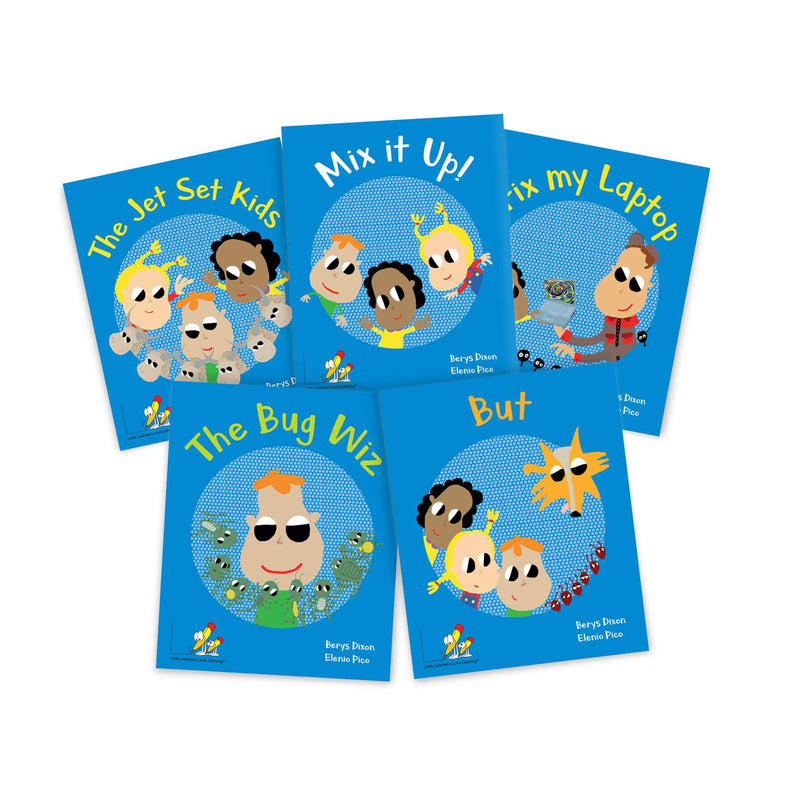 The Wiz Kids Little Book Pack Stages 1-4