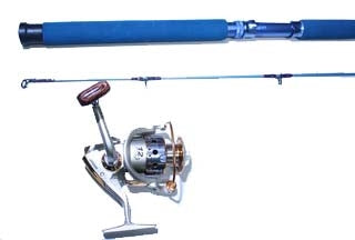 SPINNING ROD / REEL COMBO - 7' ROD