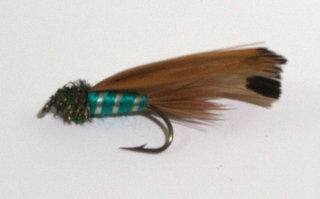 PACK OF 2 TEAL SPRATLEY FLIES - #8