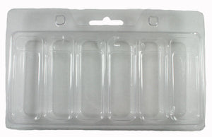 Clam shell packaging trays (Case of 420)- Plastic packaging blisters