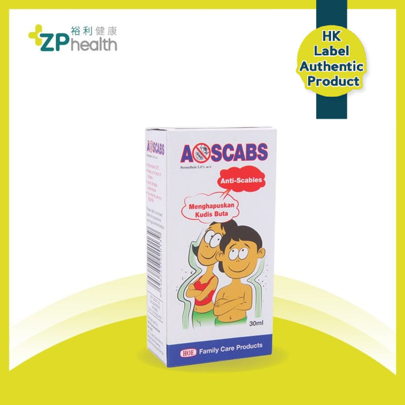 Ascabs Lotion 30ml [HK Label Authentic Product]