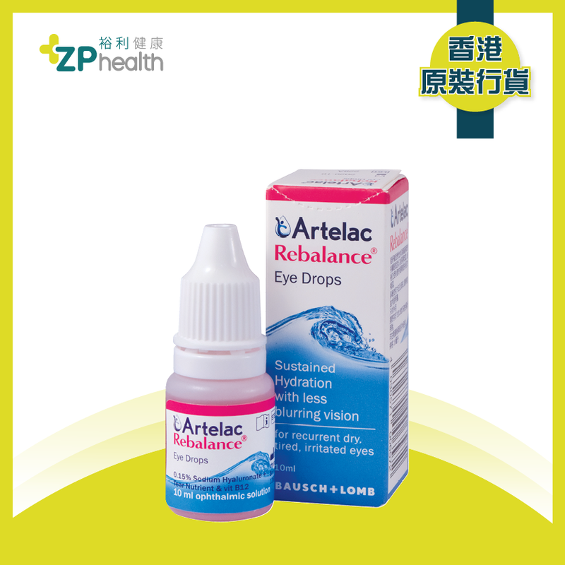 Artelac Rebalance [HK Label Authentic Product] [Expiry date: 1 Jul 2021]